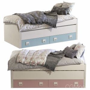 Children's bed DORMITORIO JUVENIL CLARA Set 84