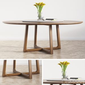 Concorde Round Dinning Table Large Poliform