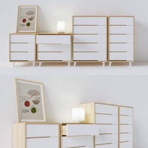 Chest Of Drawers For East-west Households