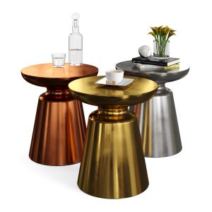 Martini Side Table Set (4 Colors)