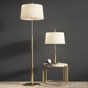 Diana Santa & Cole Floor And Table Lamp