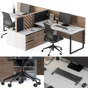 Office Furniture Work Table Set