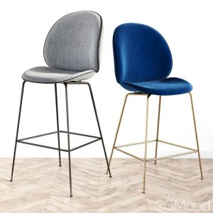 Beetle Bar Stool & Coutner Stool