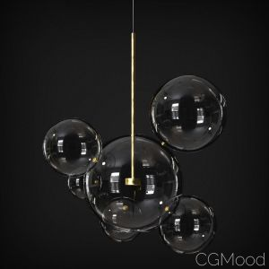 Suspension Light Giopato & Coombes Bolle Bls 6
