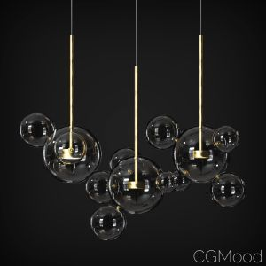 Suspension Light Giopato & Coombes Bolle Bls 1