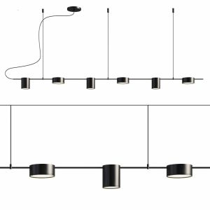 Counterpoint 6 Light Led Linear Pendant