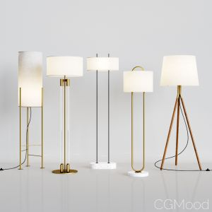 Cb2 - 5 Floor Lamps Set 1
