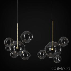 Suspension Light Giopato & Coombes Bolle 4 & 6