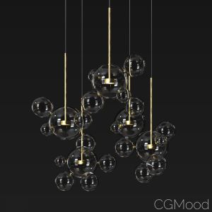 Suspension Light Giopato & Coombes Bolle Circu