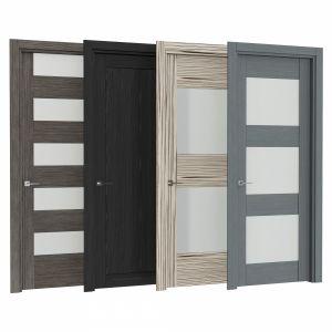Modern interior doors Set 74