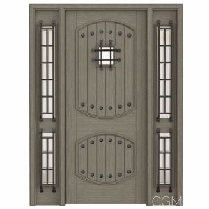 Rustic interior doors Set 83
