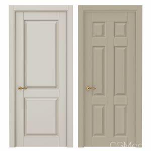 Classic interior doors Set 87