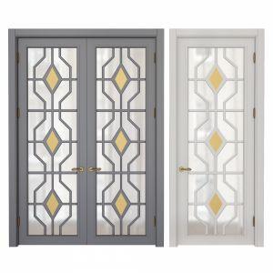 Classic interoir doors Set 90