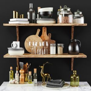 Kitchen Decorative Set 057
