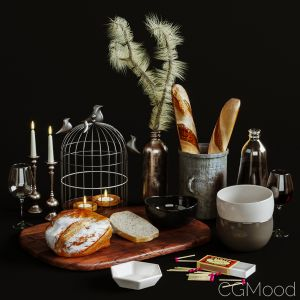 Kitchen Decorative Set 037