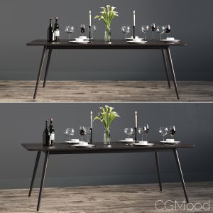 Rectangular Fen Dinning Table
