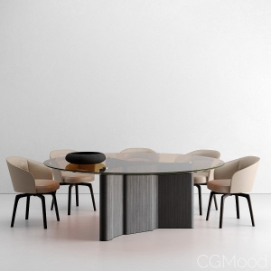 Lou Table and Amelie Chair