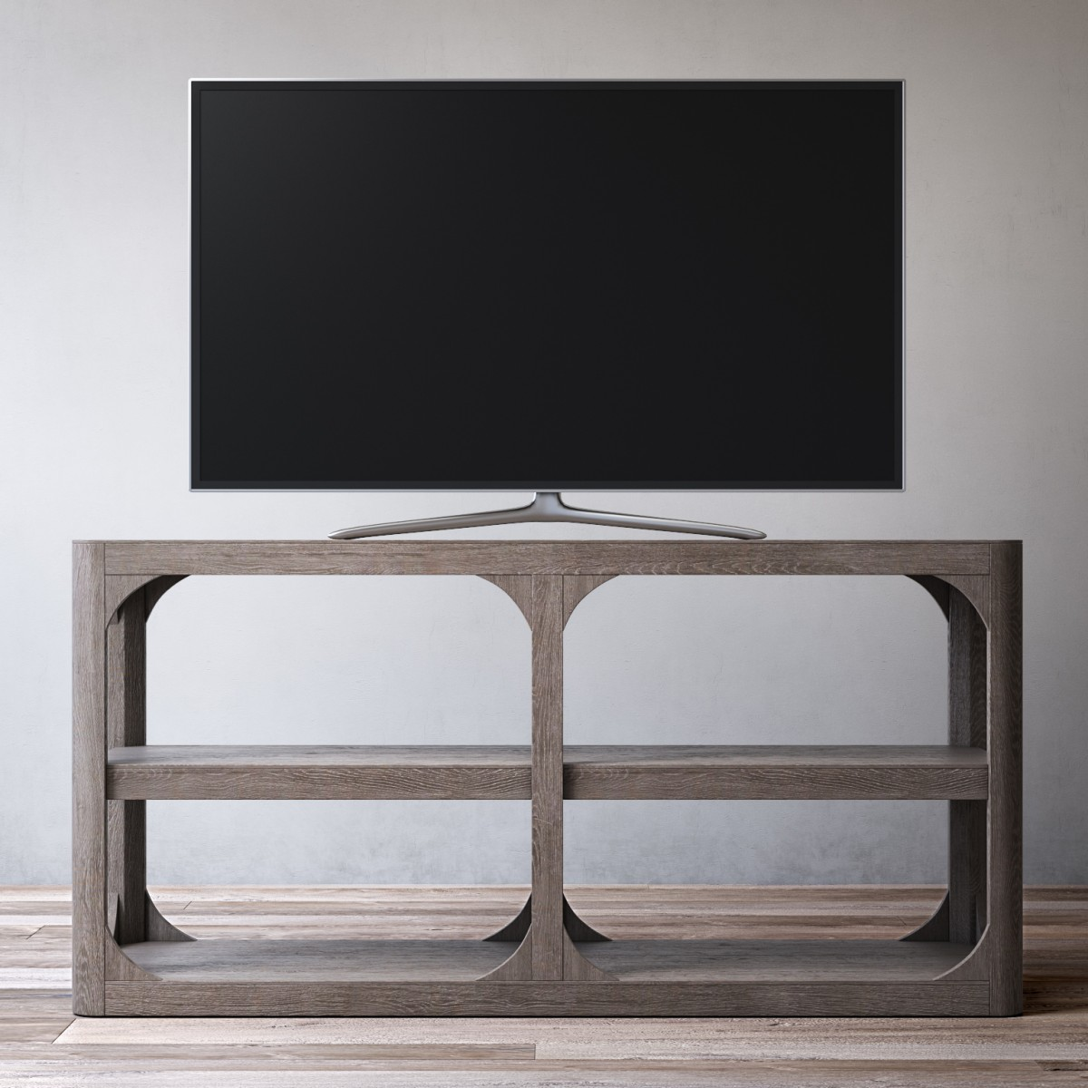 Martens 60in Media Console 3d Model For Vray