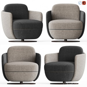 Wittmann Miles Lounge Armchair