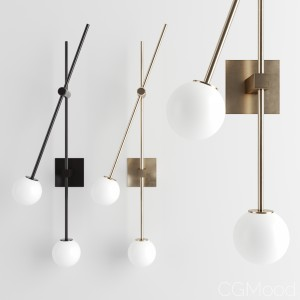 Tempo Sconce By Atelier De Troupe
