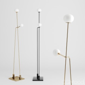 Tempo Floor Lamp By Atelier De Troupe