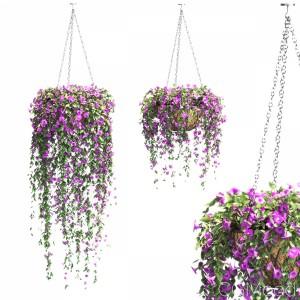 Petunias Set In Pots - 2 Models