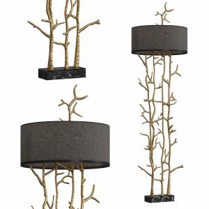 Twiggy Floor Lamp By Pieter Adam