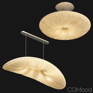 Lamps With Folds Aqua Light - 2 Models