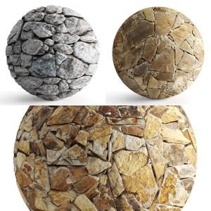 Seamless texture masonry stone col. 1