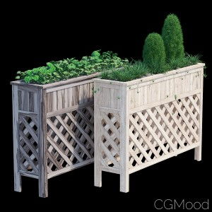 Raised Patio Planter 48