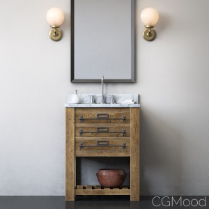 Mercantile Powder Washstand