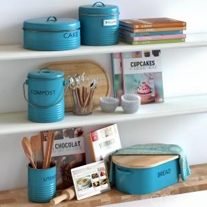 Typhoon Vintage Kitchen Blue
