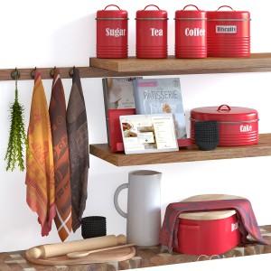 Typhoon Vintage Kitchen Red