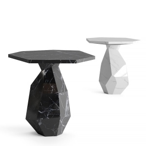 Ginger & Jagger Rock Side Table Made From A Single