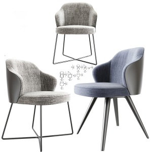 Leslie Dining Chairs Set 02