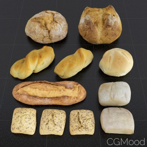Bread Set 01