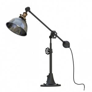Rh Industrial Era Task Lamp Pewter
