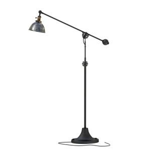 Rh Industrial Era Task Floor Lamp Pewter