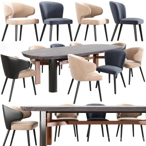 Aston Dining Chair Table Set