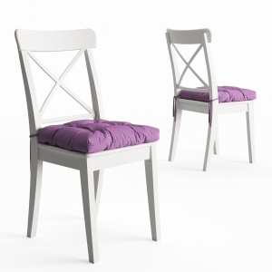 Ingolf Chair By Ikea And Soft Seat