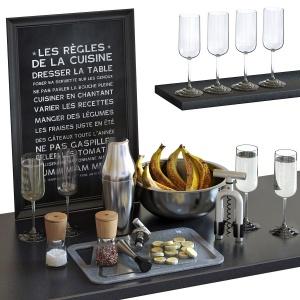 Cocktail Set - Wmf Parisian Shaker