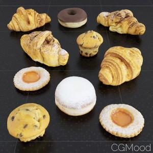 Pastry Set 01
