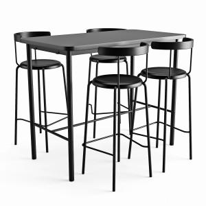 Bar Table And Chair Tymmaryd Yngvar