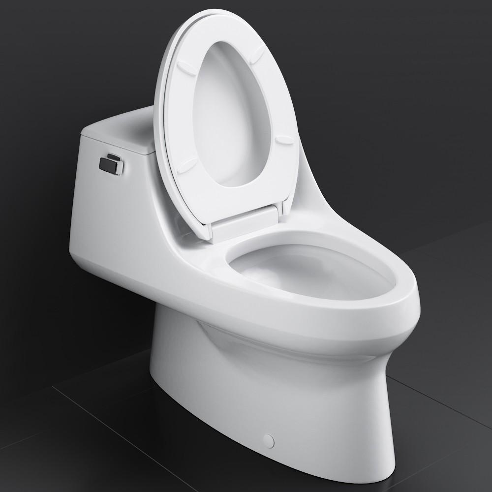 Strange Kohler San Raphael Toilet 3D Model For Vray Corona Dailytribune Chair Design For Home Dailytribuneorg