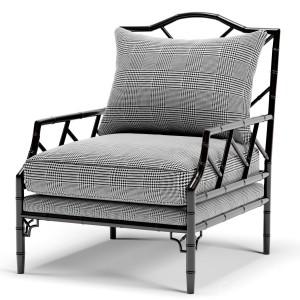 Eichholtz Morgan Dixon Black And White Chair