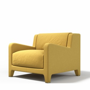 Lema ALMA Fabric Armchair Design by Leo Dainelli