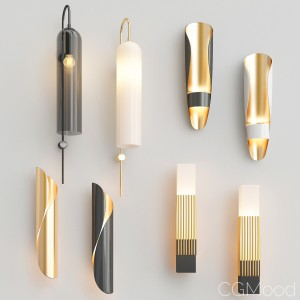 Four Nice Wall Lights_8