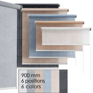 Roller Blind Set | 6 Colors