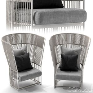 Tibidabo High Armchair