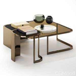 Coffee Table Bent Fendi Casa